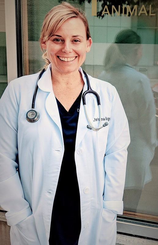 Meet Dr. Christina Burger, associate veterinarian