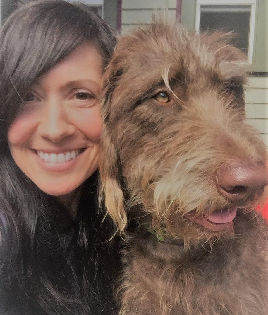 Meet Valerie, veterinary technician, and her dog